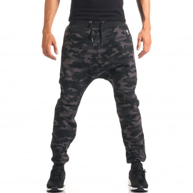 Pantaloni baggy bărbați Marshall camuflaj it160816-4 4