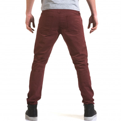 Pantaloni bărbați Maximal roșii it090216-9 3