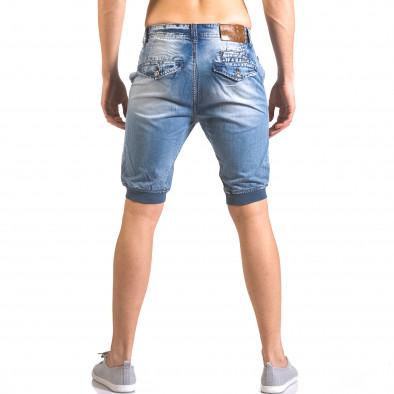 Blugi scurți bărbați Always Jeans albaștri ca050416-68 3