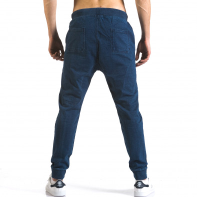 Pantaloni baggy bărbați Enos albaștri it090216-57 3