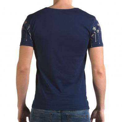 Tricou bărbați Lagos albastru il120216-38 3
