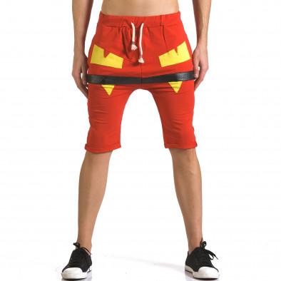 Pantaloni scurți bărbați ChRoy roșii it110316-74 2