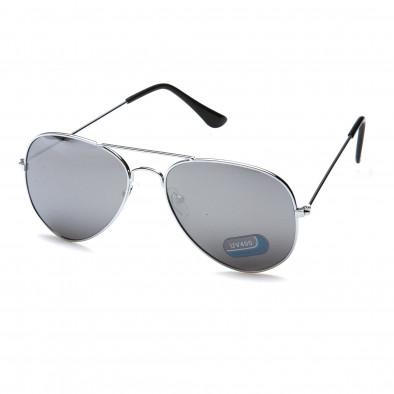 Ochelari de soare bărbați Bright gri it151015-3 2