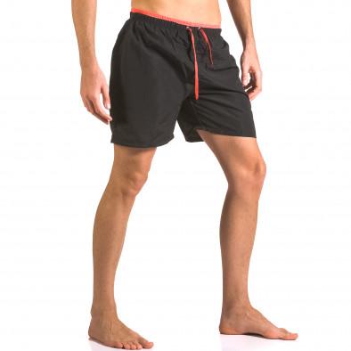 Costume de baie bărbați Yaliishi negru ca050416-23 4