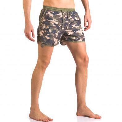 Costume de baie bărbați New Mentality camuflaj ca050416-2 4
