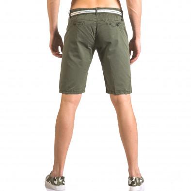Pantaloni scurți bărbați Top Star verzi ca050416-64 3