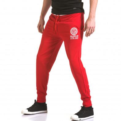 Pantaloni bărbați Franklin roșu il170216-132 4