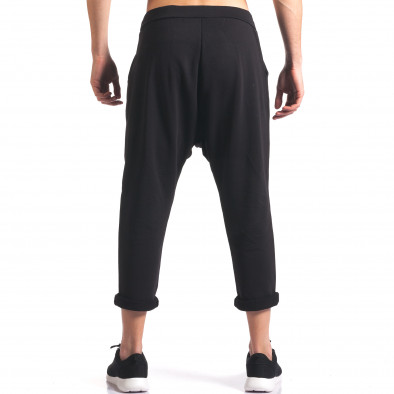 Pantaloni baggy bărbați FCSM negri it260416-35 3
