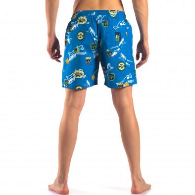 Costume de baie bărbați Austar Jeans albastru it150616-24 3