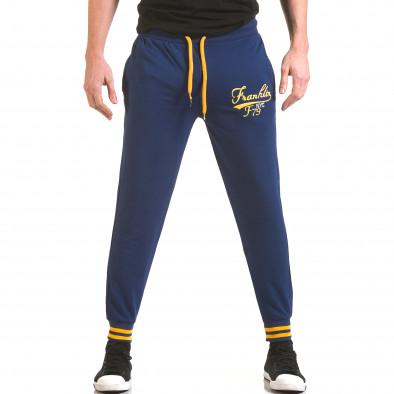 Pantaloni bărbați Franklin albastru il170216-134 2