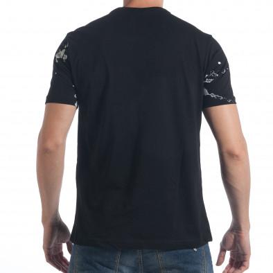 Tricou bărbați 2Y Premium negru tsf090617-50 3