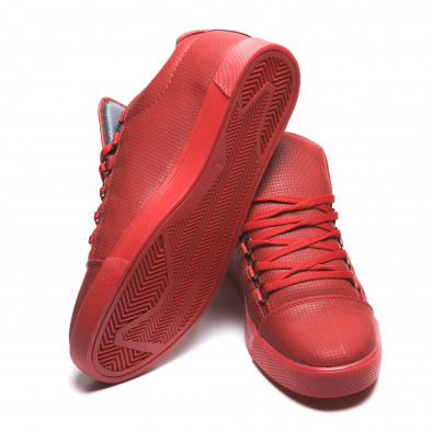 Pantofi sport bărbați Coner roșii il160216-5 4