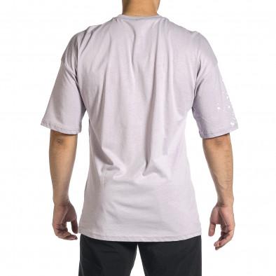 Tricou bărbați Breezy mov tr150521-11 4