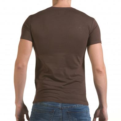 Tricou bărbați Click Bomb maro il170216-85 3