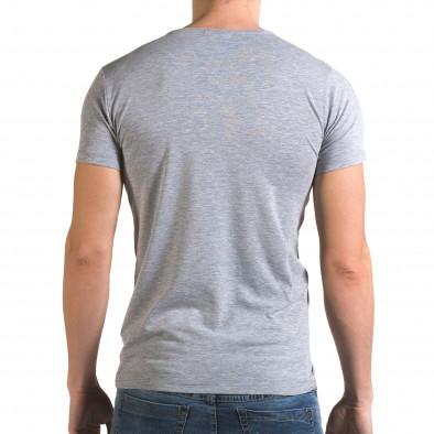 Tricou bărbați Lagos gri il120216-12 3