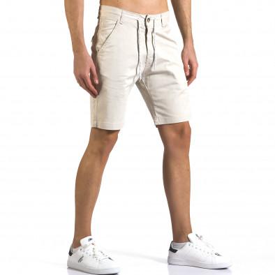 Pantaloni scurți bărbați Marshall bej it110316-40 4