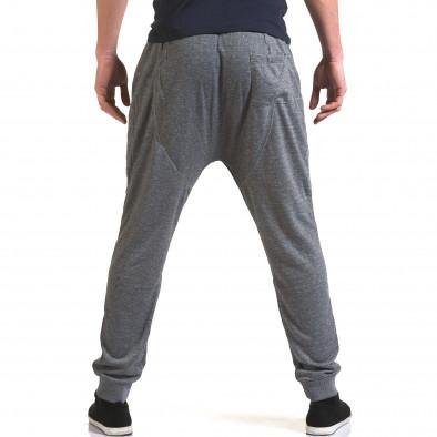 Pantaloni baggy bărbați Dress&GO gri it090216-37 3