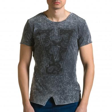 Tricou bărbați Adrexx gri ca190116-48 2