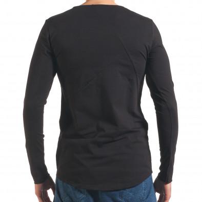 Bluză bărbați Black Fox neagră it250416-74 3
