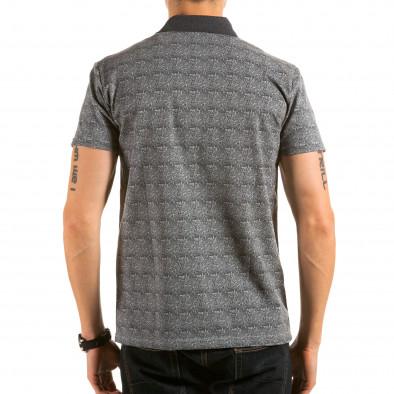 Tricou cu guler bărbați Catch gri il180215-105 3
