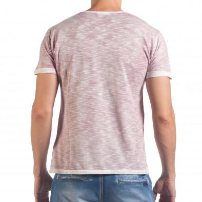 Tricou bărbați Lagos roz il060616-47 3