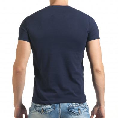 Tricou bărbați Just Relax albastru il140416-41 3
