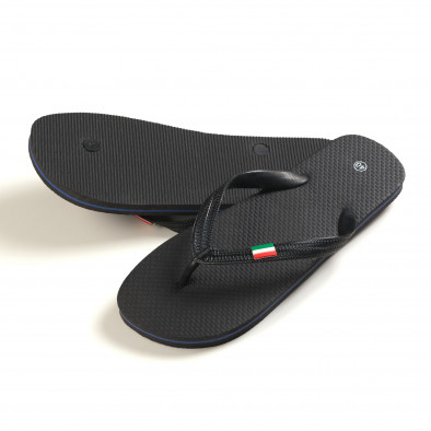 Papuci bărbați FM negri it150616-5 3