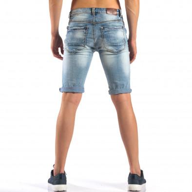 Blugi scurți bărbați Always Jeans albaștri it160616-17 3