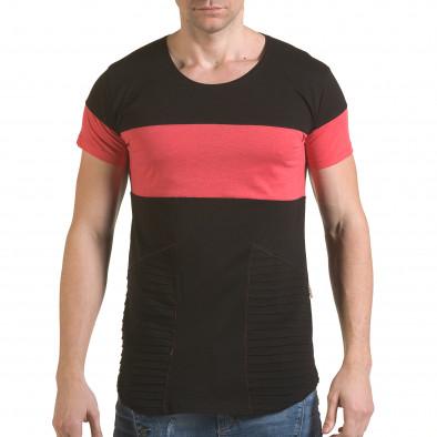 Tricou bărbați Click Bomb negru il170216-76 2