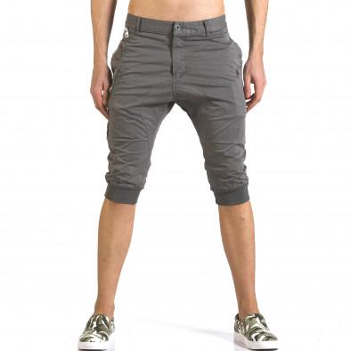 Pantaloni scurți bărbați TMK gri it110316-51 2