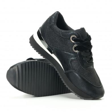 Pantofi sport de dama Melissa neagră it200917-24 4
