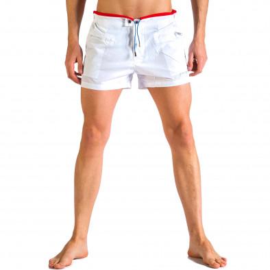 Costume de baie bărbați Justboy alb it250416-61 2