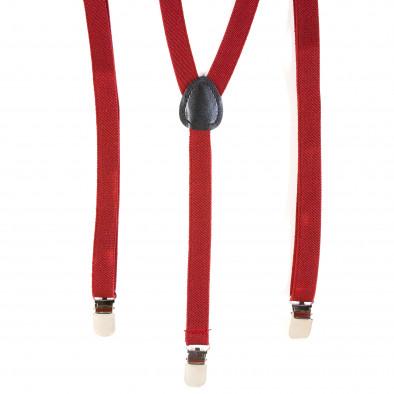 Bretele FM  roșie bărbați it120214-68 4