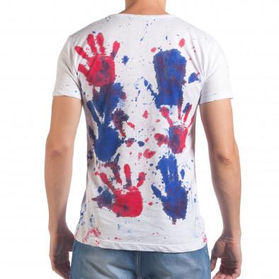 Tricou bărbați Lagos alb il060616-49 3