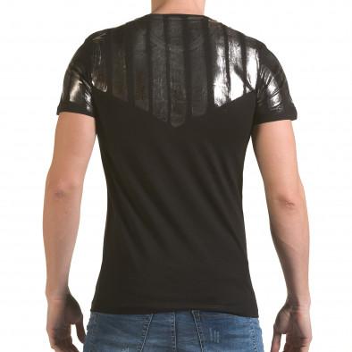 Tricou bărbați SAW negru il170216-51 3