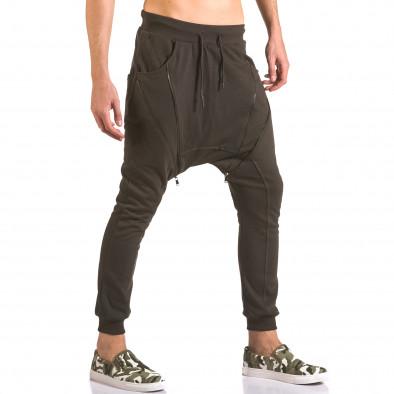 Pantaloni baggy bărbați Devil Slayer maro ca050416-48 4