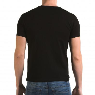 Tricou bărbați Lagos negru il120216-11 3