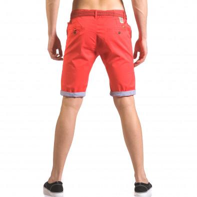 Pantaloni scurți bărbați Baci & Dolce roșii ca050416-55 3