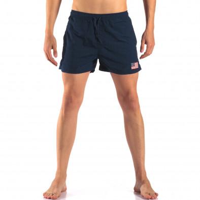 Costume de baie bărbați New Mentality albastru it150616-25 2