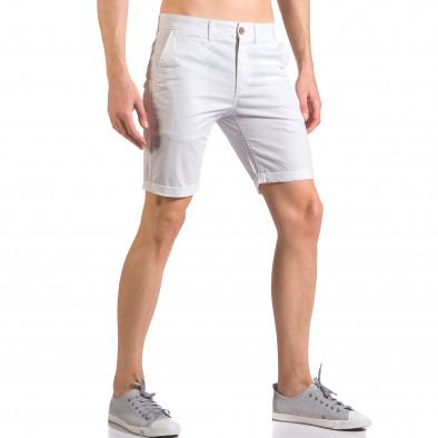 Pantaloni scurți bărbați XZX-Star albi ca050416-62 4
