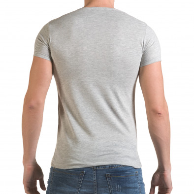 Tricou bărbați Click Bomb gri il170216-78 3