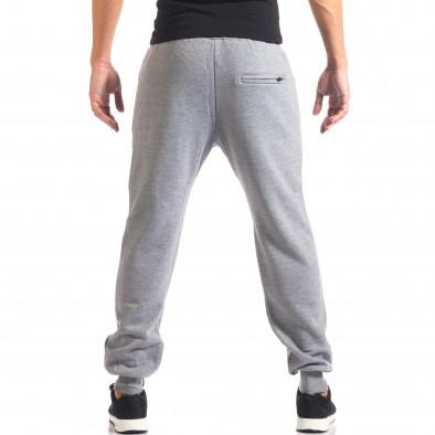 Pantaloni sport bărbați Marshall gri it160816-9 3