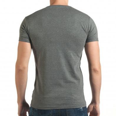 Tricou bărbați Lagos gri il140416-66 3