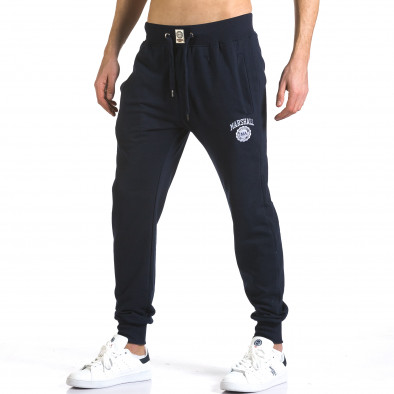 Pantaloni bărbați Marshall albastru it110316-13 4