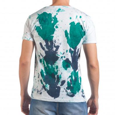 Tricou bărbați Lagos alb il060616-50 3