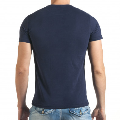 Tricou bărbați Just Relax albastru il140416-47 3