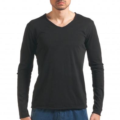 Bluză bărbați Man neagră it260416-49 2