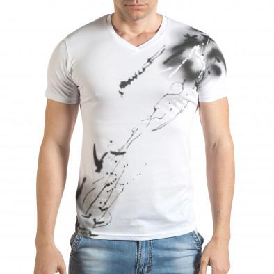 Tricou bărbați Blitz alb tsf140416-75 2