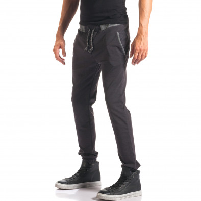 Pantaloni bărbați Jack Berry albaștri it150816-21 4