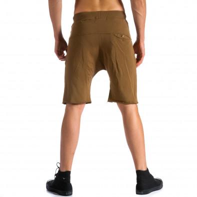 Pantaloni scurți bărbați Bread & Buttons maro tsf120514-17 3